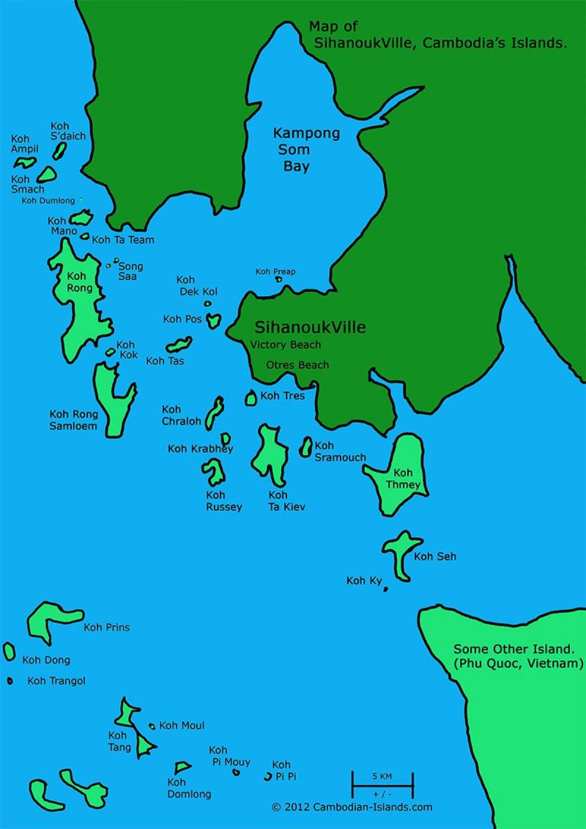 Kambodscha Karte.Sihanoukville Kambodscha Karte Karte Von Open Development