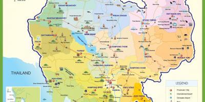 Kambodscha Karte.Kambodscha Kambodscha Map Karten Kambodscha Kambodscha